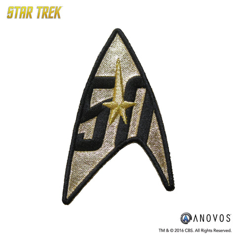Star Trek 50th Anniversary Patch