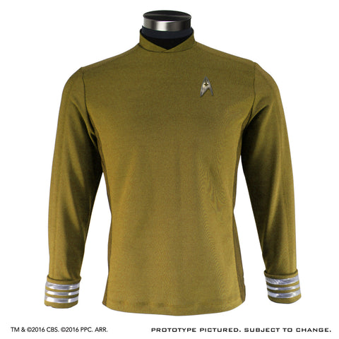 STAR TREK™: BEYOND - Men's Starfleet Uniform Tunic - Standard Line (No Badge)