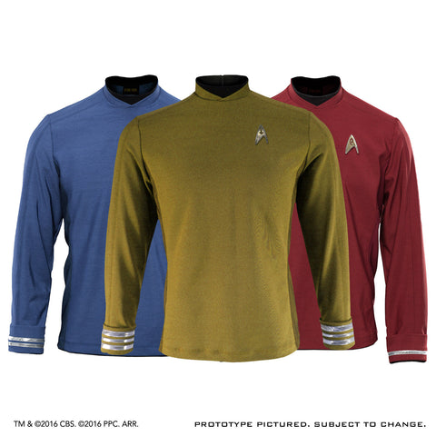 STAR TREK™: BEYOND - Men's Starfleet Uniform Tunic - Premier Line (No Badge)