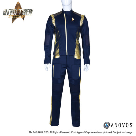 STAR TREK™: DISCOVERY - Starfleet Captain's Duty Uniform for Men (Pre-Order)