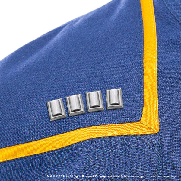 STAR TREK ENTERPRISE Captain's Rank Pip Set (Pre-Order)