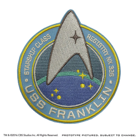 STAR TREK Franklin Insignia Patch