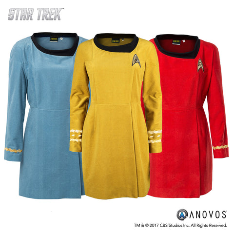 Star Trek: The Original Series - Women's Dress - Velour Line - Operation XL