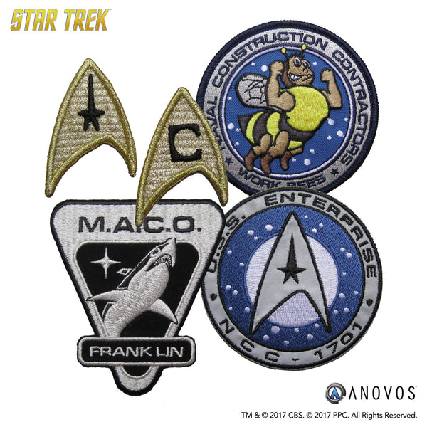 STAR TREK: The Official Patch Collection Wave 1