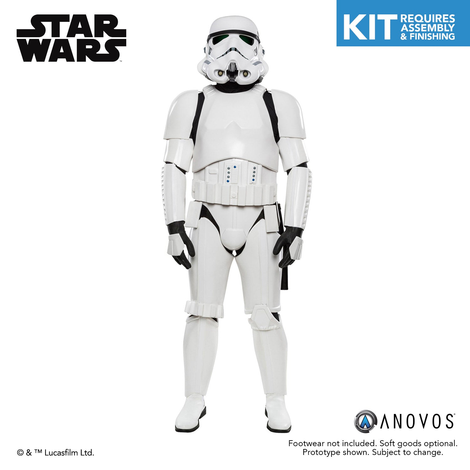 Star Wars Classic Trilogy Imperial Stormtrooper Kit Anovos Productions Llc