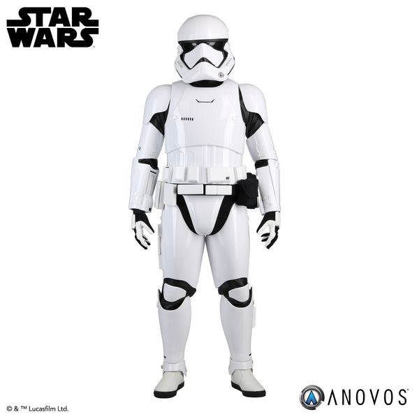 STAR WARS™: THE FORCE AWAKENS: First Order Stormtrooper Completed Premier Ensemble with Helmet and Boots