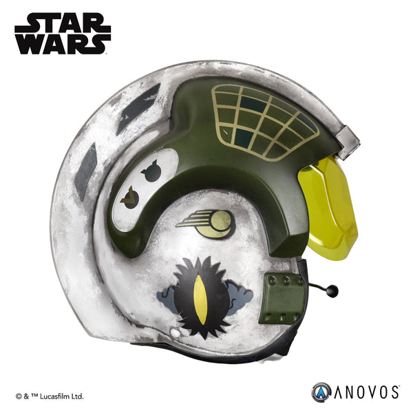 STAR WARS Gold Leader Rebel Pilot Helmet Accessory
