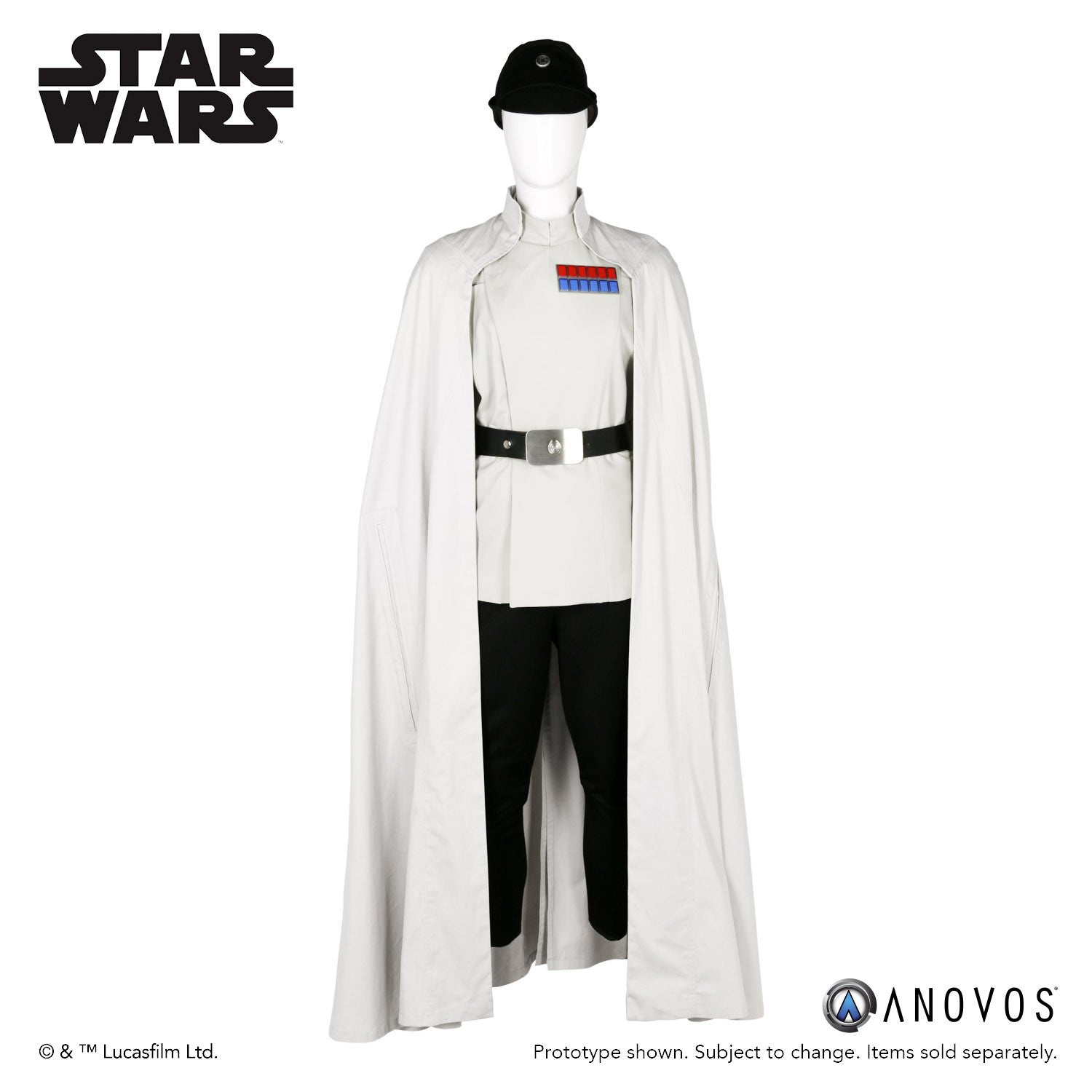 Star Wars Rogue One Director Krennic Cosplay Costume Made custom made