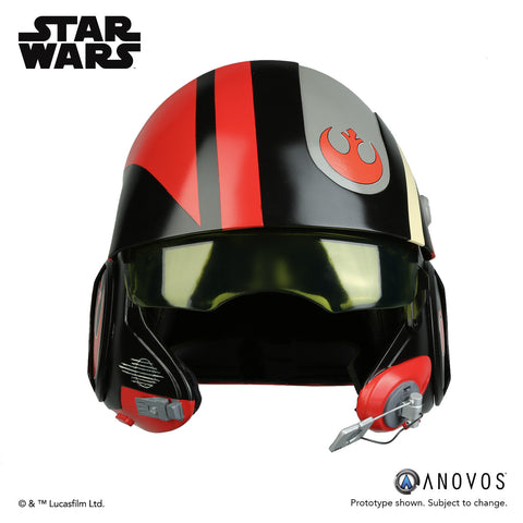 STAR WARS™: THE FORCE AWAKENS Poe Dameron Black Squadron Helmet Accessory (2018 Fall Reservation)
