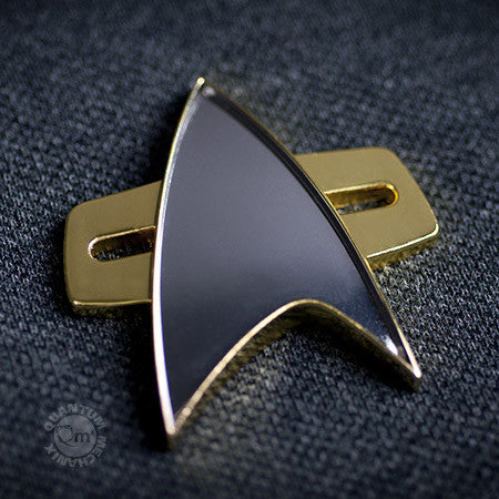 STAR TREK: DEEP SPACE NINE & VOYAGER Communicator Badge Replica