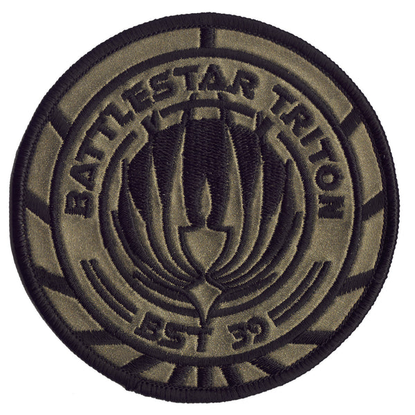 Battlestar Galactica Patch - Battlestar Triton (BSG / BST 39)