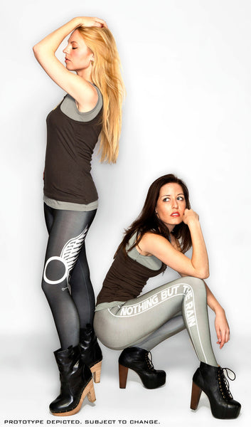 "Battlestar Galactica - ""Nothing But The Rain"" Leggings from the Kara Collection"