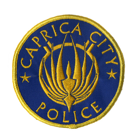 Battlestar Galactica Patch - Caprica City Police
