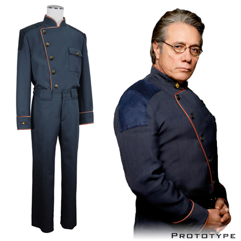 Battlestar Galactica - Commander Duty Blue Jacket - Premier Line