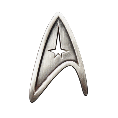 Star Trek: The Movie - Starfleet Division Badge - Command (Pin-Back Variant)
