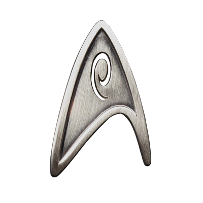 Star Trek: The Movie - Starfleet Division Badge - Engineering / Services