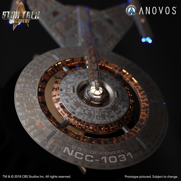 STAR TREK™: DISCOVERY — NCC-1031 U.S.S. Discovery Studio-Scale Starship Filming Miniature (Pre-Order)