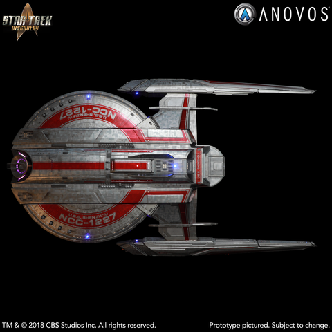 STAR TREK: DISCOVERY — NCC-1227 U.S.S. Shenzhou, Walker Class Studio-Scale Starship Filming Miniature (Wave 3 - Final Wave Reservation)