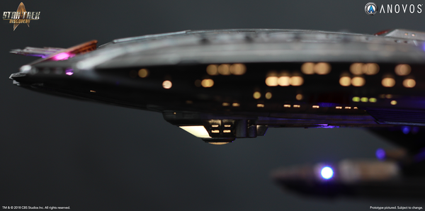 STAR TREK: DISCOVERY — NCC-1227 U.S.S. Shenzhou, Walker Class Studio-Scale Starship Filming Miniature