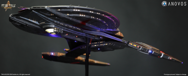 STAR TREK™: DISCOVERY — NCC-1227 U.S.S. Shenzhou Studio-Scale Starship Filming Miniature (Made to Order)