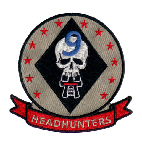 Battlestar Galactica Patch - 9th Headhunters Squadron