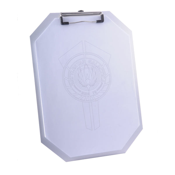 Battlestar Galactica Metal Replica Clipboard with Paper Set