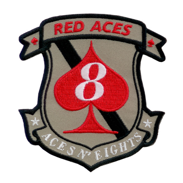 Battlestar Galactica Patch - 8th Red Aces Squadron