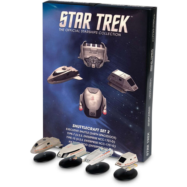 Exclusive Collector's Set of STAR TREK Shuttles 2