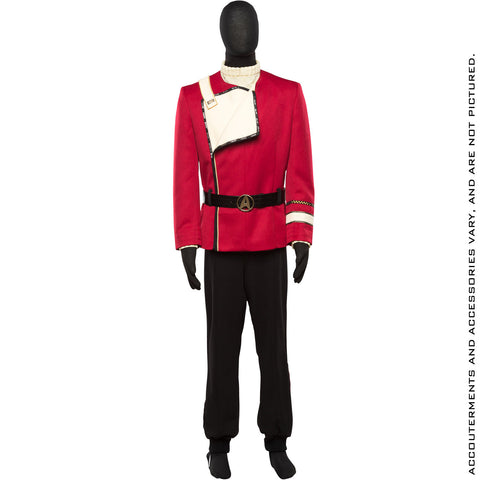 STAR TREK THE WRATH OF KHAN Admiral Kirk Uniform 2.0 Ensemble - Standard Line (2018 Pre-Order)