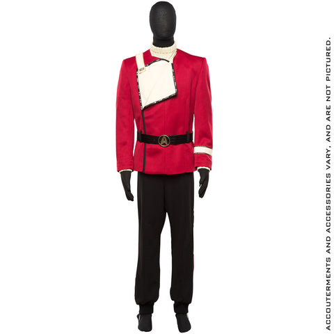 STAR TREK THE WRATH OF KHAN Command Division Uniform 2.0 Ensemble - Standard Line (2018 Pre-Order)