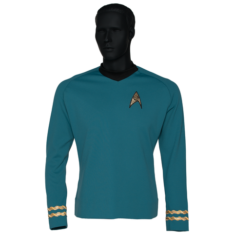 Star Trek: The Original Series Season 3 Premier Line Sciences Uniform Tunic
