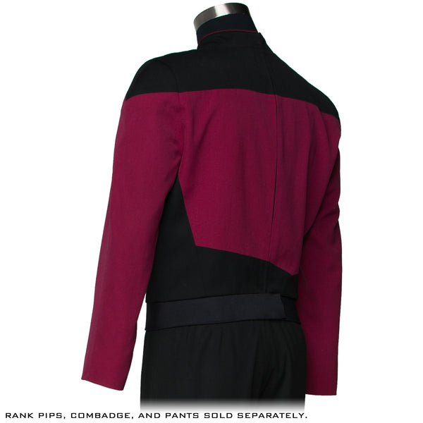 STAR TREK: THE NEXT GENERATION Premier Line Command Burgundy Uniform Tunic (Reservation)