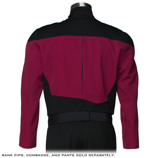 STAR TREK™: THE NEXT GENERATION - Premier Line Command Burgundy Uniform Tunic (Pre-Order)