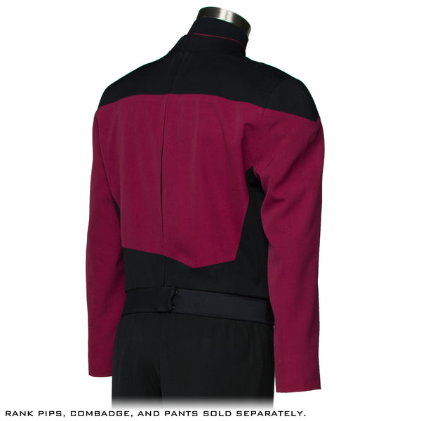STAR TREK™: THE NEXT GENERATION - Premier Line Command Burgundy Uniform Tunic