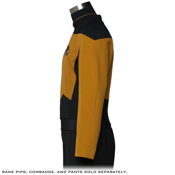 STAR TREK™: THE NEXT GENERATION - Premier Line Services Mustard Uniform Tunic