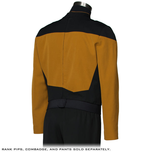 Star Trek: The Next Generation Services Mustard Uniform Tunic - Premier Line