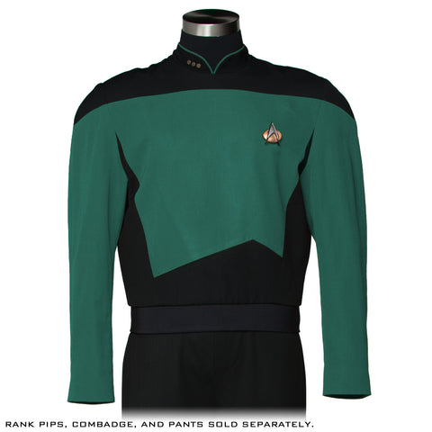 Star Trek: The Next Generation Sciences Green/Teal Tunic - Premier Line