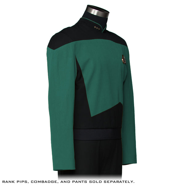 STAR TREK: THE NEXT GENERATION Premier Line Sciences Green/Teal Tunic