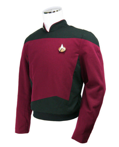 Star Trek: The Next Generation - Command Burgundy Tunic - Standard Line