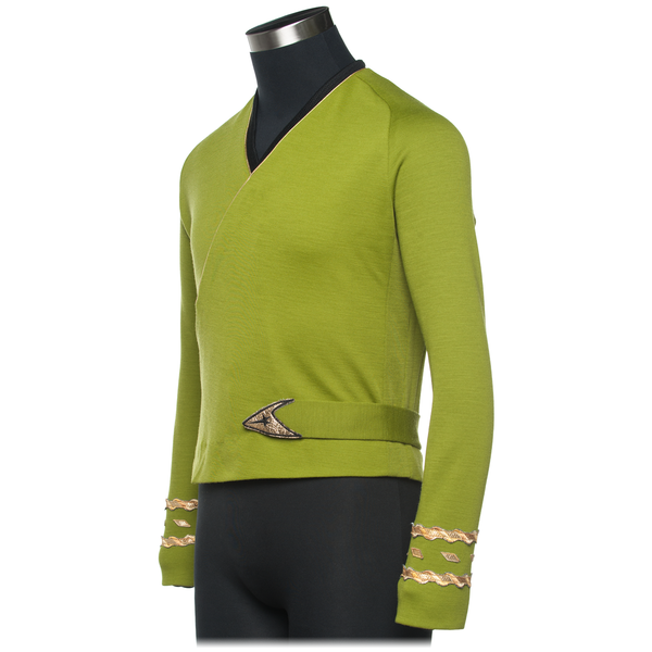 Star Trek: The Original Series - Captain Kirk Green Wrap - Season 2