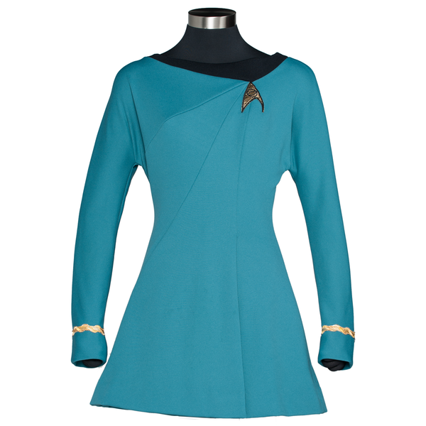 STAR TREK: THE ORIGINAL SERIES Season 3 Premier Line Sciences Uniform Dress (2018 Pre-Order Wave)