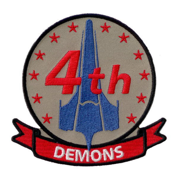 Battlestar Galactica Patch - 4th Demons Squadron