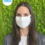 "Cotton mask ""Maskido"" - white - Care4Health"