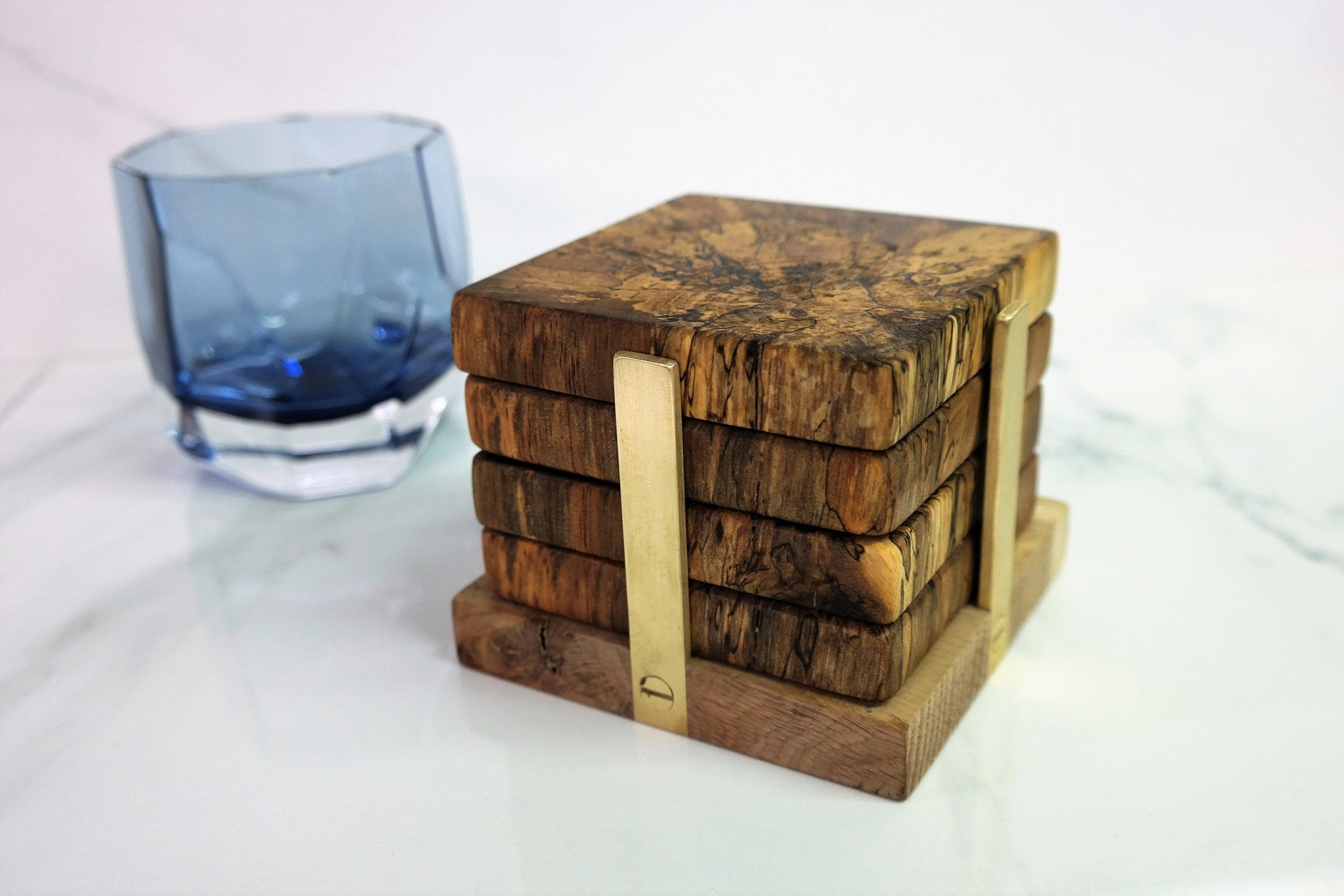 Coasters The Wooden Palate Holder 5825
