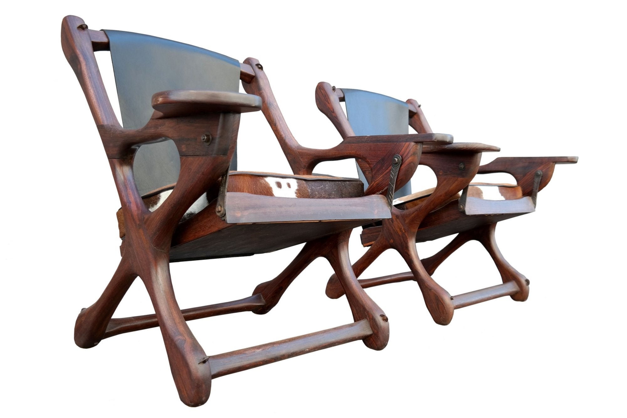 Don Shoemaker Pair Of Sling Chairs