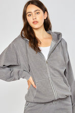 Load image into Gallery viewer, BOYFRIEND ZIP UP JACKET - 2 COLORS