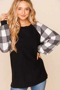 EVERYDAY PLAID LONG SLEEVE