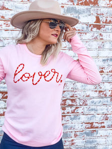 LOVER PINK GRAPHIC TEE