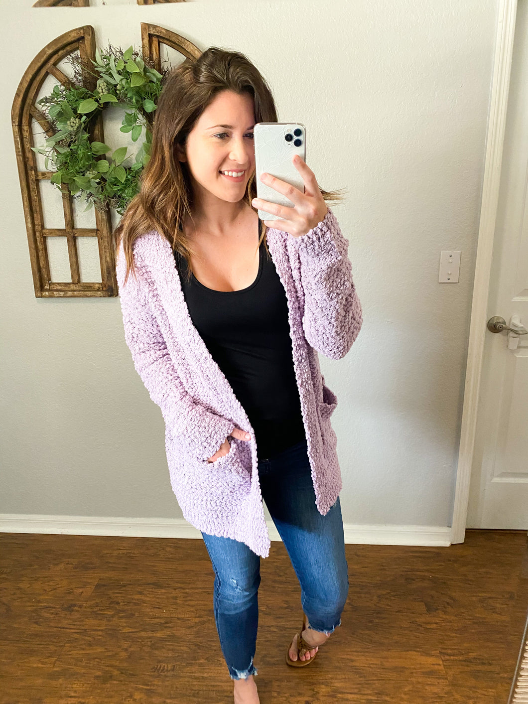 THE BELLE POPCORN CARDIGANS- 3 COLORS