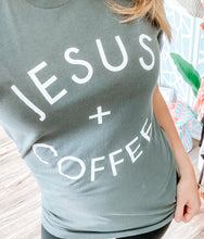 Load image into Gallery viewer, JESUS + COFFEE GRAPHIC